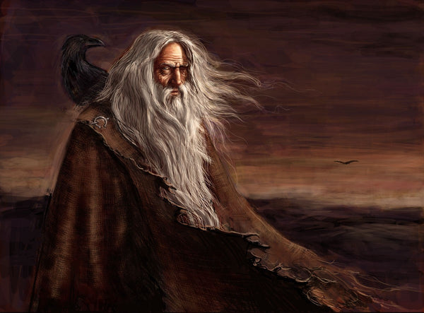 What do Odin's ravens symbolize - Gthic.com - Blog