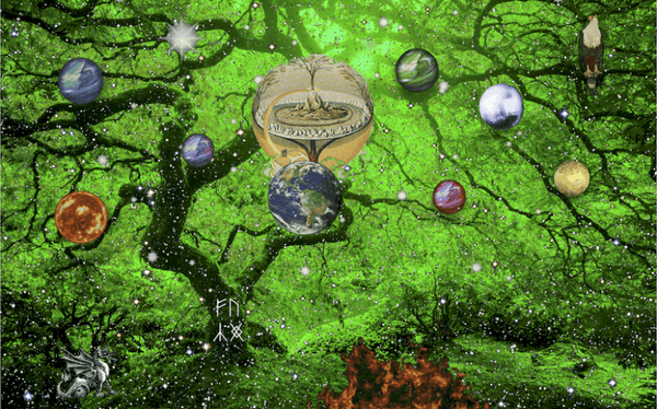 Yggdrasil - tree or life - Gthic.com