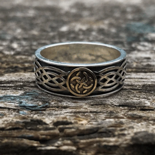 Celtic Amulet Sterling Silver Viking Ring - Gthic.com - Blog