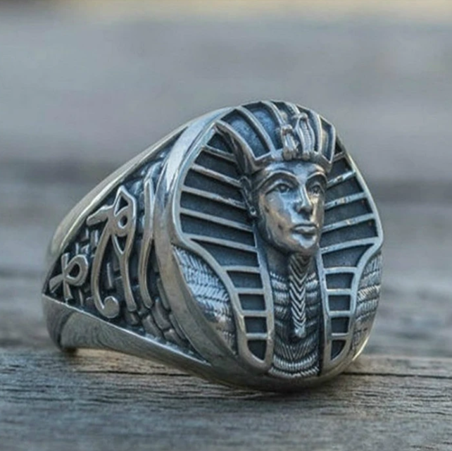 Egypt Sphinx Ring - Gthic.com - Blog