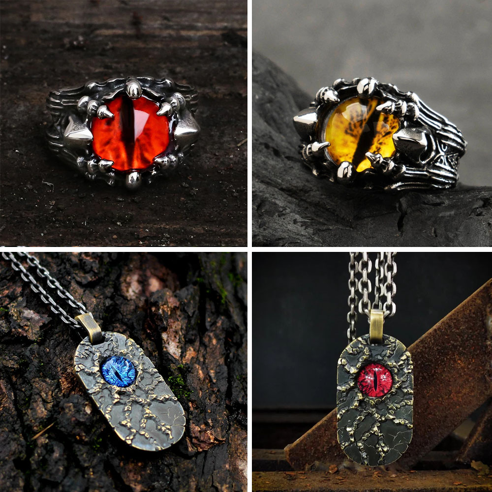 Eye of Sauron Ring and Pendant - Gthic.com - Blog