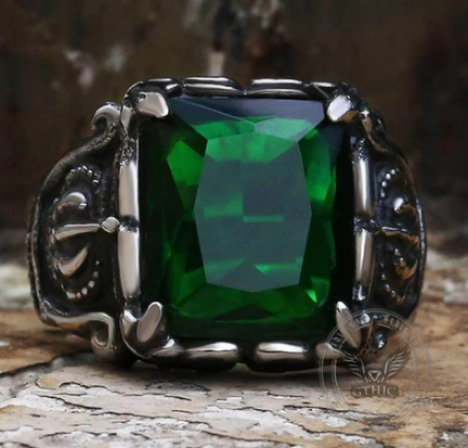 Gothic Crown Stainless Steel CZ Ring - Gthic.com - Blog