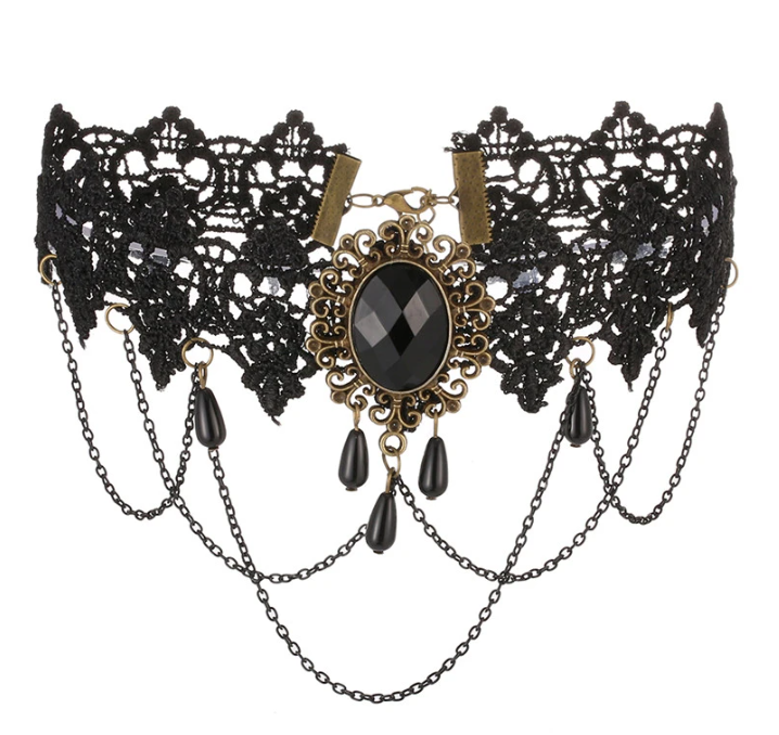 Gothic choker necklace - Gthic.com - Blog