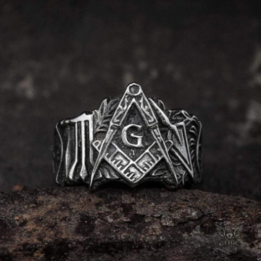 Knights Templar Stainless Steel Masonic Ring - Gthic.com - Blog