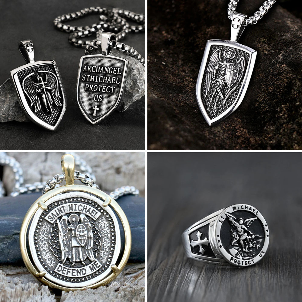 SAINT MICHAEL JEWELRY - Gthic.com - Blog