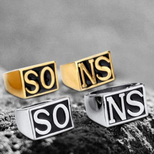 SONS STAINLESS STEEL RING - Gthic.com - Blog