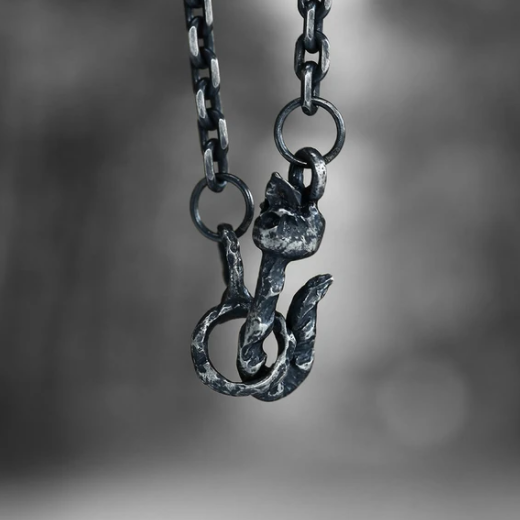 Sterling Silver Skull Cable Chain - Gthic.com - Blog