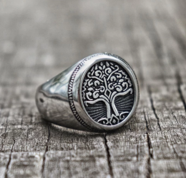 Tree of Life Ring - Gthic.com