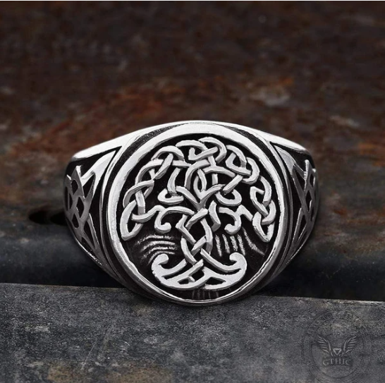 Tree of life ring - Gthic.com - Blog
