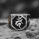 Acalanatha Sword Stainless Steel Ring