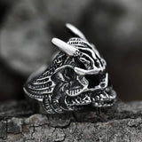 Asura Stainless Steel Skull Ring