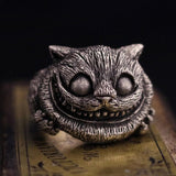 Cheshire Cat Stainless Steel Ring