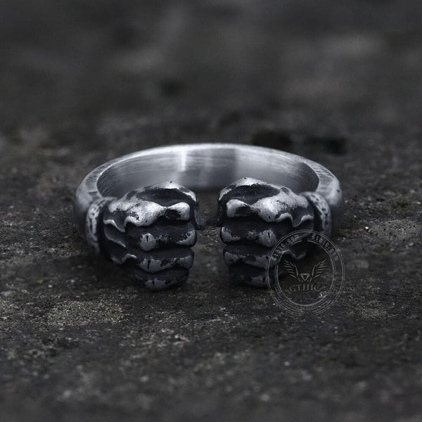 Fist of power Stainless Steel Ring