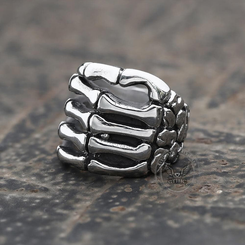 Ghost Claw Stainless Steel Ring