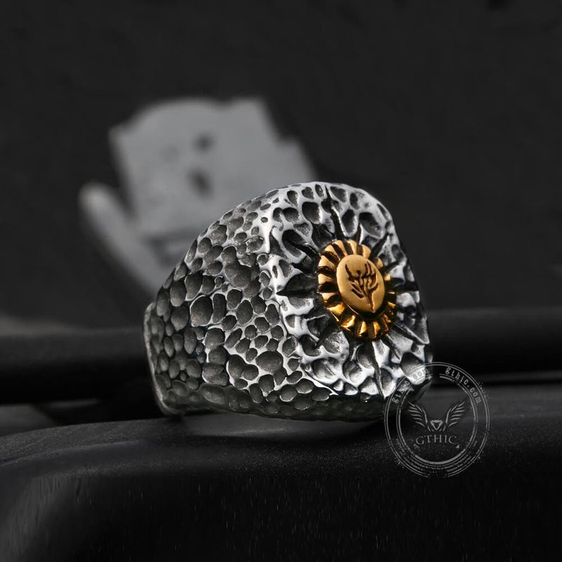 Golden Phoenix Stainless Steel Ring