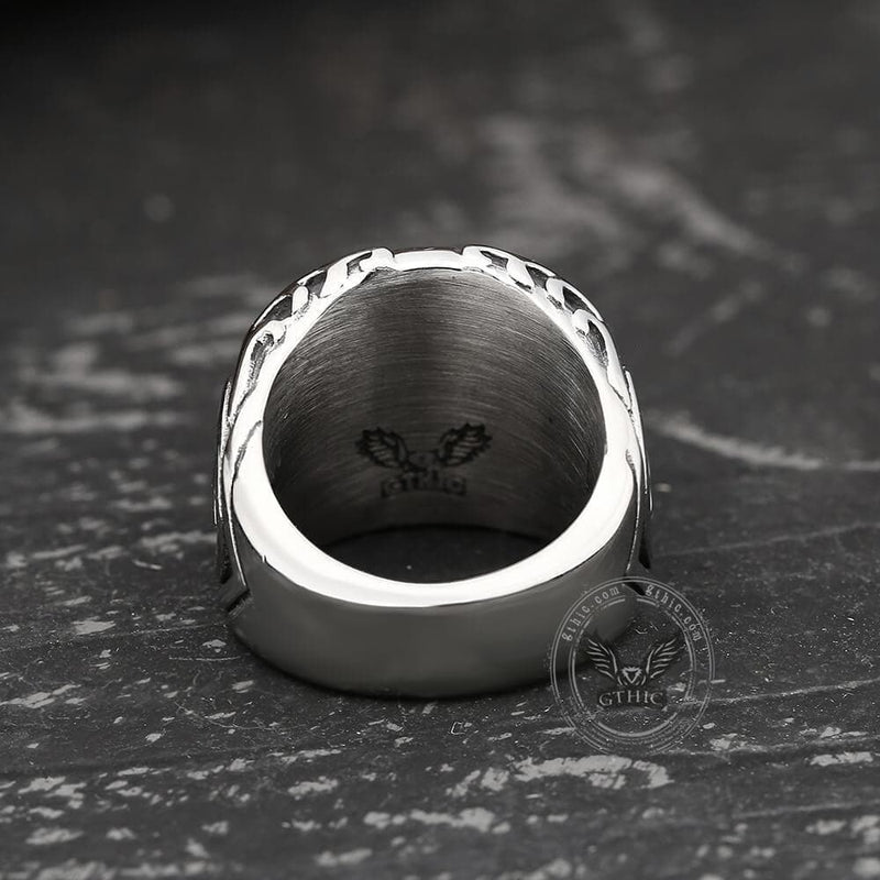 Gothic Tooth Fairy Skull Ring