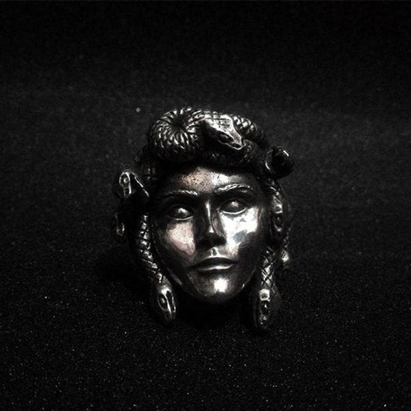 Greek Mythology Gorgon Monster Medusa Beast Ring | Gthic.com