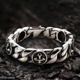 Stylish Cross Stainless Steel Simple Bracelet