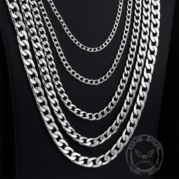 Cuban Link Stainless Steel Chain