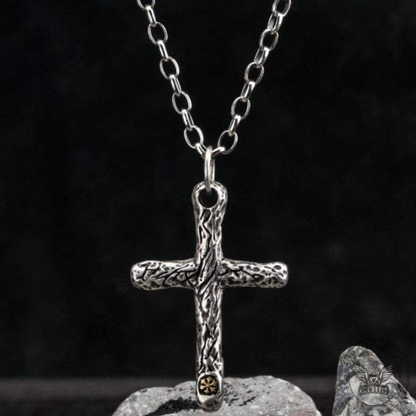 Cross Sterling Silver Pendant