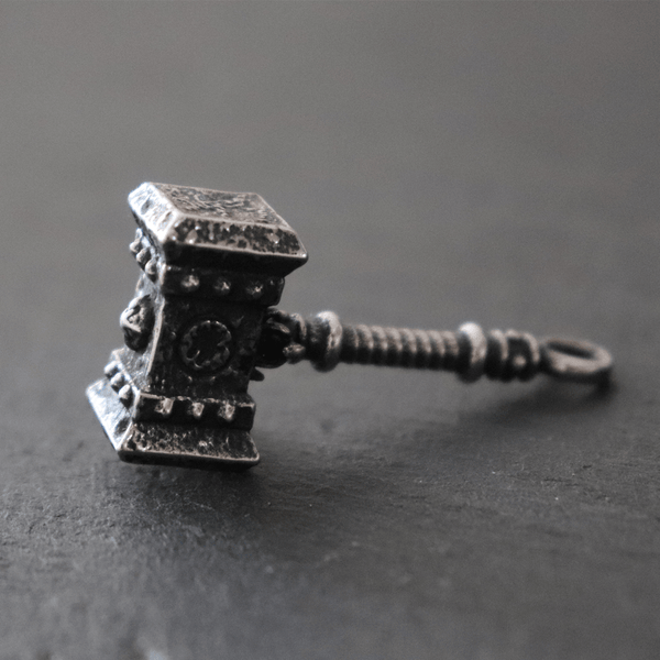 Doomhammer World Of Warcraft Stainless Steel Viking Pendant