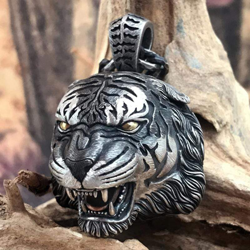 Original Handmade Tiger King Pendant