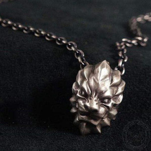 3D Lion King Sterling Silver Beast Pendant