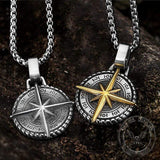 The North Star Stainless Steel Pendant