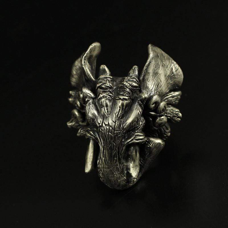 Elephant Sterling Silver Beast Ring