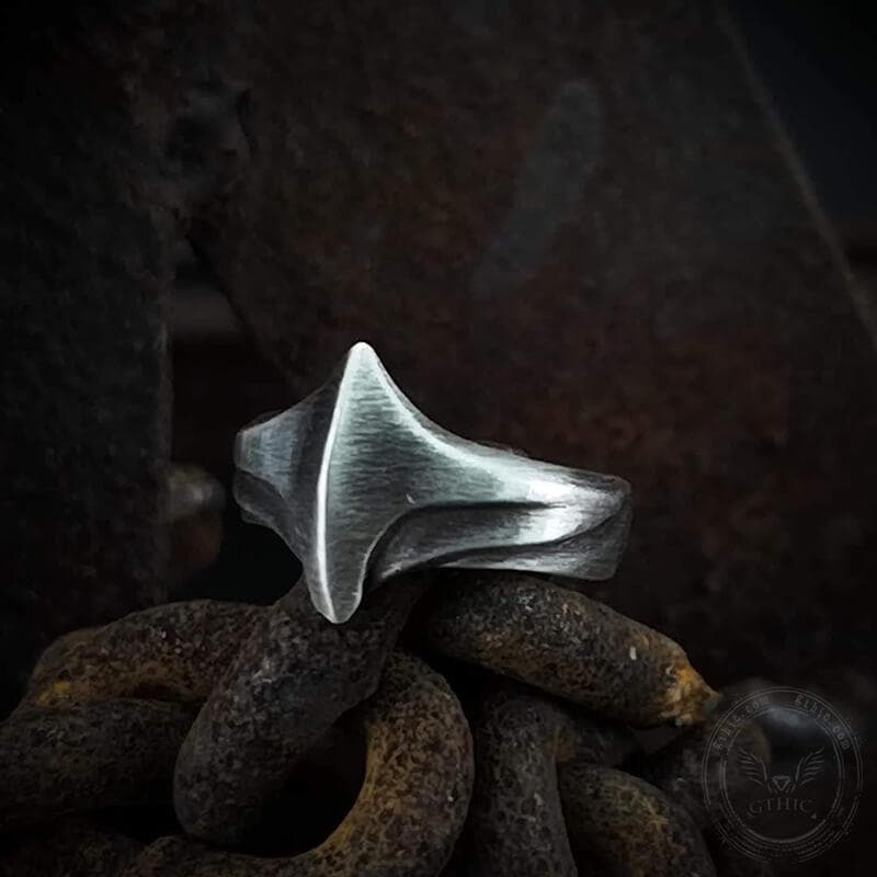 Flying Wing Sterling Silver Ring