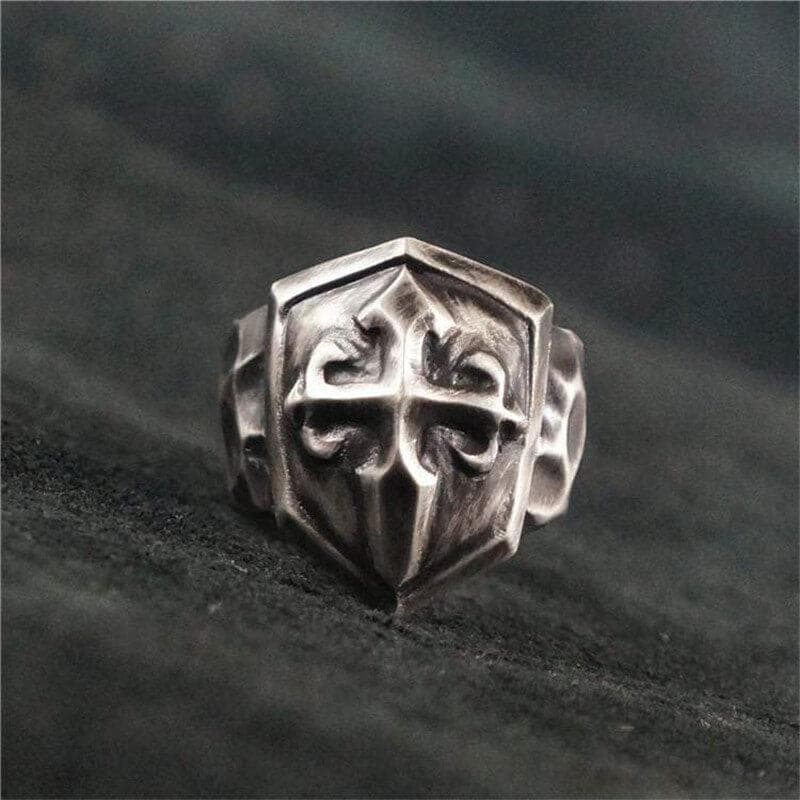Game Shield 925 Silver Ring