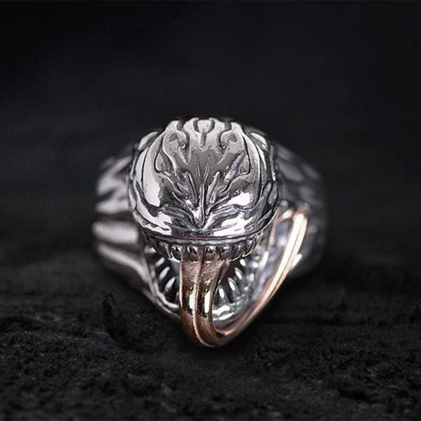 Venom Sterling Silver Ring