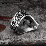 Berserker Stainless Steel Viking Skull Ring