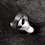 God Of War Skull Sterling Silver Darksiders Ring