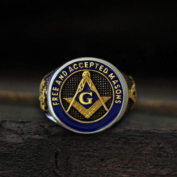 Eye Of Providence 316L Stainless Steel Masonic Ring
