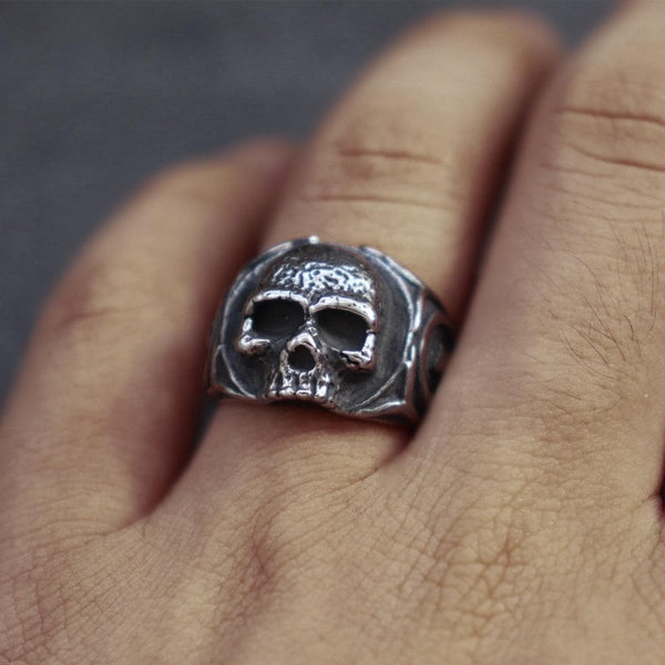 Gothic Tooth Fairy Skull Ring | Gthic.com