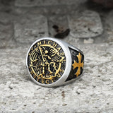 Guardian Angel Templar Knight Ring