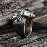 Insect Scorpion King 925 Silver Ring