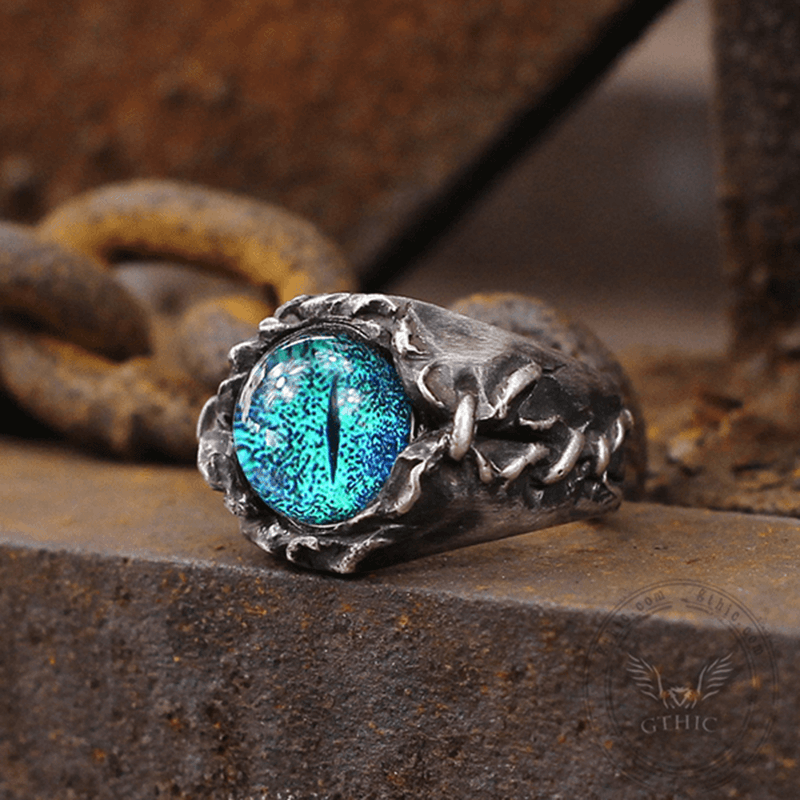 Magic Eye Sterling Silver Ring