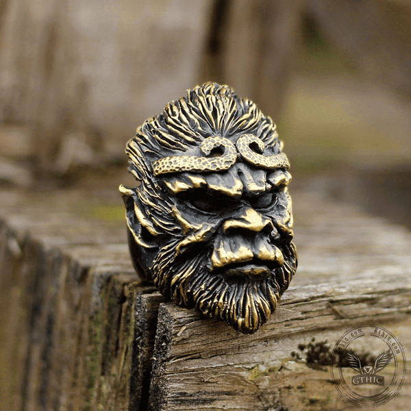 Monkey King Brass Ring