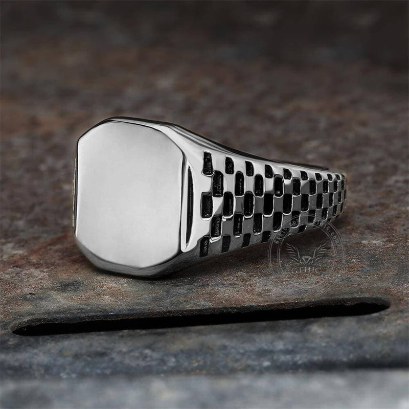 Classic Smooth Stainless Steel Ring