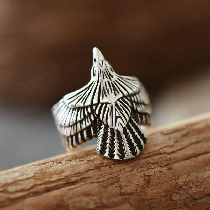 Eagle Stainless Steel Beast Ring