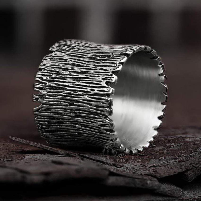 Wide Bands 316L Stainless Steel Ring