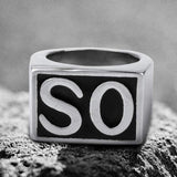 SO NS Stainless Steel Ring