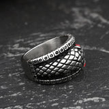 Ouroboros Stainless Steel Mythology Ring