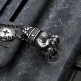 Powerful Fist of Fate Stainless Steel Pendant