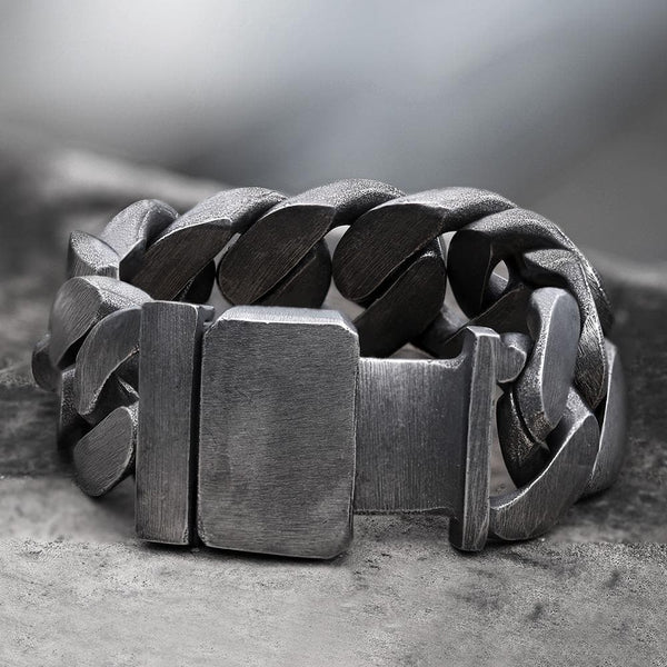 Punk Cuban Chain Stainless Steel Bracelet