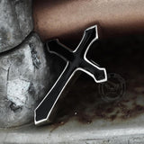 Retro Cross Stainless Steel Punk Ring