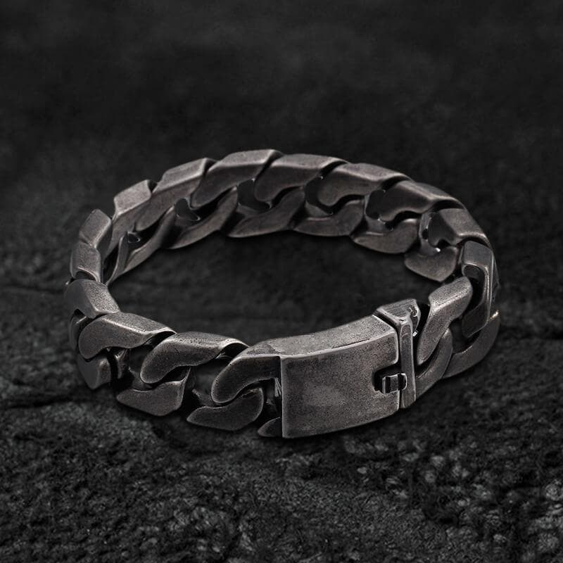 Retro Cuban Chain Stainless Steel Bracelet