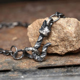 Sterling Silver Skull Chain